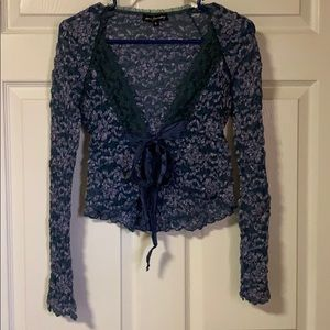 Ann Ferriday Lace Top